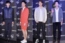 2AM's Im Seulong, Jung Il Woo, Jo Han Sun and Ji Sung Attend DKNY 25th Anniversary Fashion Show