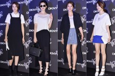 Soo Hyun, Oh Yeon Seo, Lee Si Young and Jo Yoon Hee Attend DKNY 25th Anniversary Fashion Show - March 27, 2014 [PHOTOS]