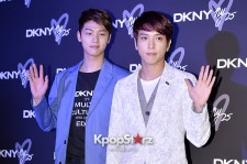 CNBLUE Attends DKNY 25th Anniversary Fashion Show