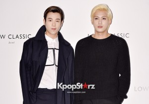 Block B Jaehyo and Pyo Attend Low Classic 2014-15 F/W Collection Fashion Show