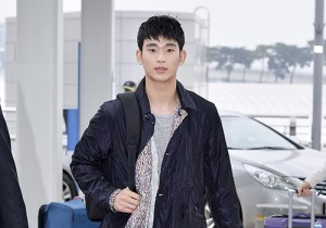 Kim Soo Hyun at Incheon Airport for Asia Tour 1st Memory in Thailand
