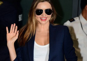 Miranda Kerr at Incheon Airport for Reebok Fan sigining Event