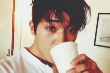 teen top changjo morning coffee
