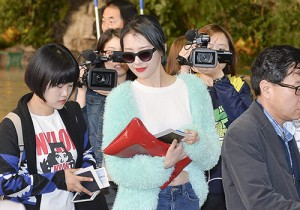 Sunmi at Gimpo International Airport Heading to Japan for Attending Mnet's M!Countdown