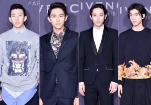 Jay Park, Im Seul Ong, Lee Soo Hyuk and Sung Joon