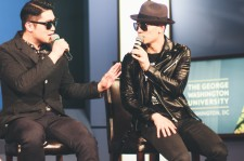 Dynamic Duo captured the audience's attention for 'Dynamic K-Pop'.