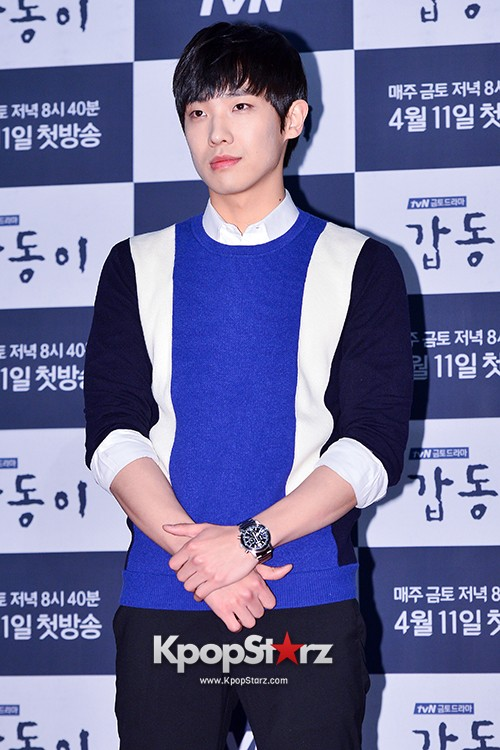 MBLAQ's Lee Joon Attends in the Press Conference of Upcoming tvN Drama, 'Gap Dong' key=>2 count17
