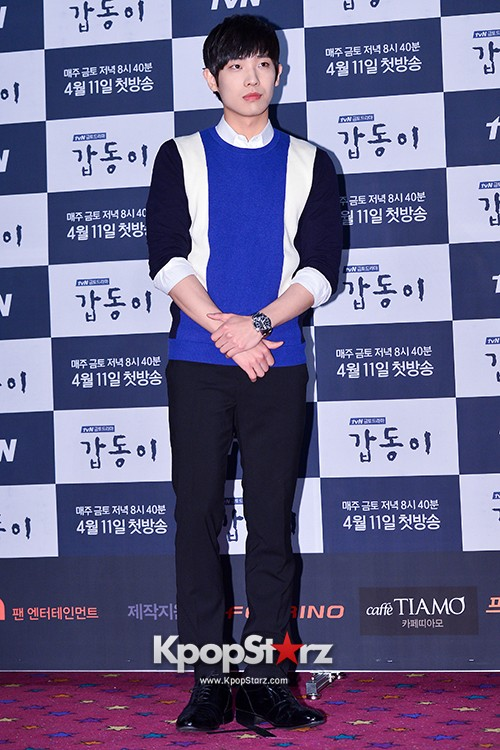 MBLAQ's Lee Joon Attends in the Press Conference of Upcoming tvN Drama, 'Gap Dong' key=>4 count17