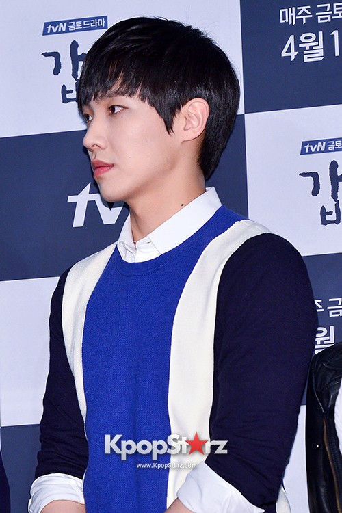 MBLAQ's Lee Joon Attends in the Press Conference of Upcoming tvN Drama, 'Gap Dong' key=>5 count17