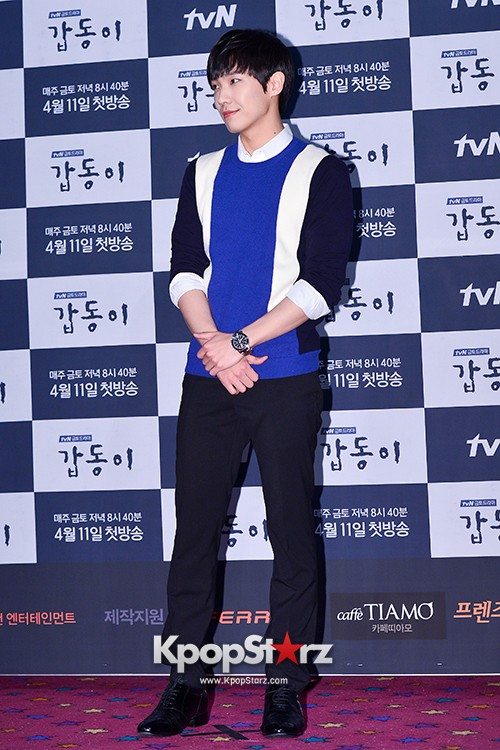 MBLAQ's Lee Joon Attends in the Press Conference of Upcoming tvN Drama, 'Gap Dong' key=>7 count17
