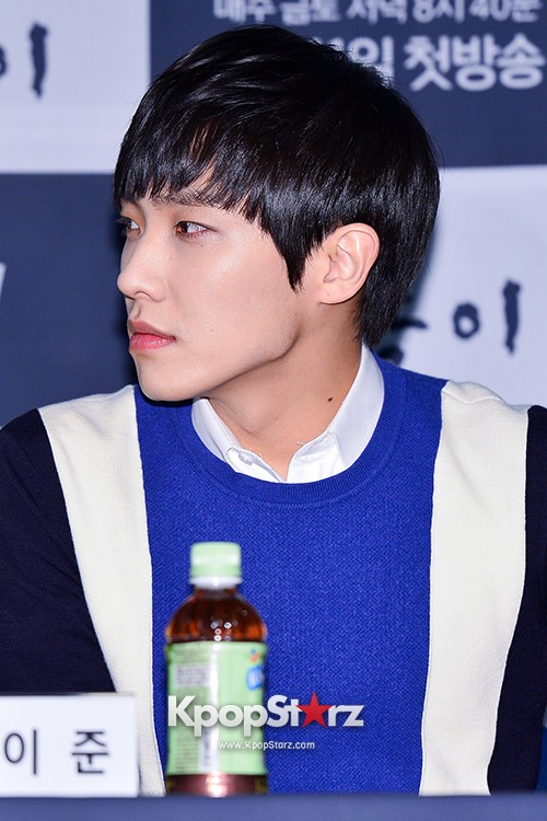 MBLAQ's Lee Joon Attends in the Press Conference of Upcoming tvN Drama, 'Gap Dong' key=>8 count17