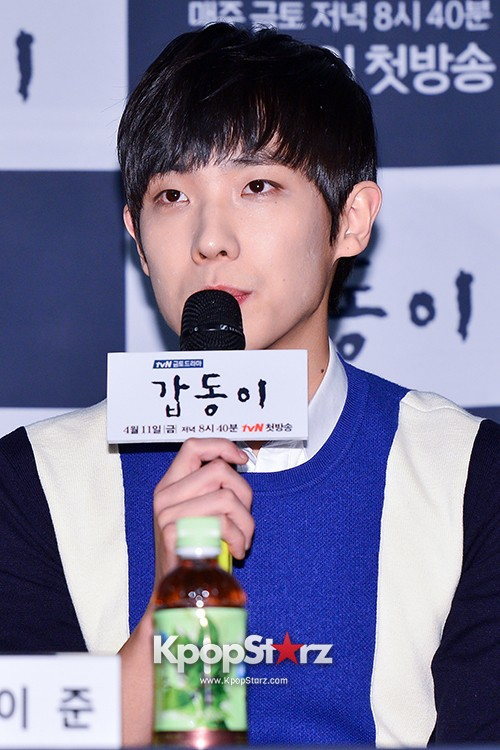 MBLAQ's Lee Joon Attends in the Press Conference of Upcoming tvN Drama, 'Gap Dong' key=>9 count17