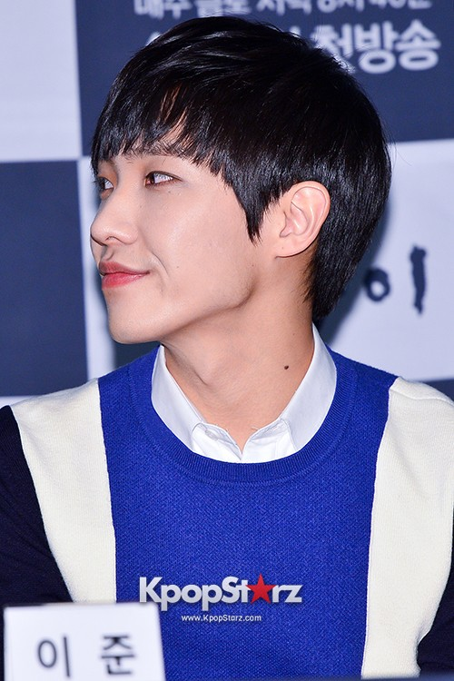 MBLAQ's Lee Joon Attends in the Press Conference of Upcoming tvN Drama, 'Gap Dong' key=>10 count17