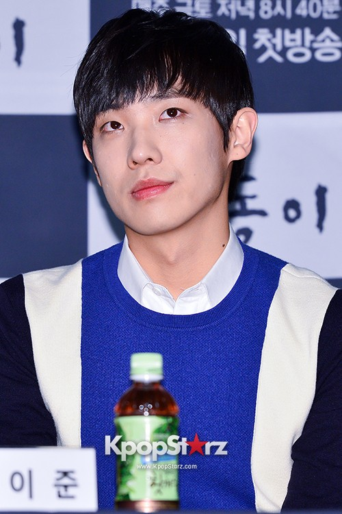 MBLAQ's Lee Joon Attends in the Press Conference of Upcoming tvN Drama, 'Gap Dong' key=>12 count17