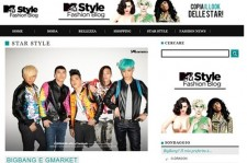 Big Bang Featured Again on Italy's MTV Style Blog