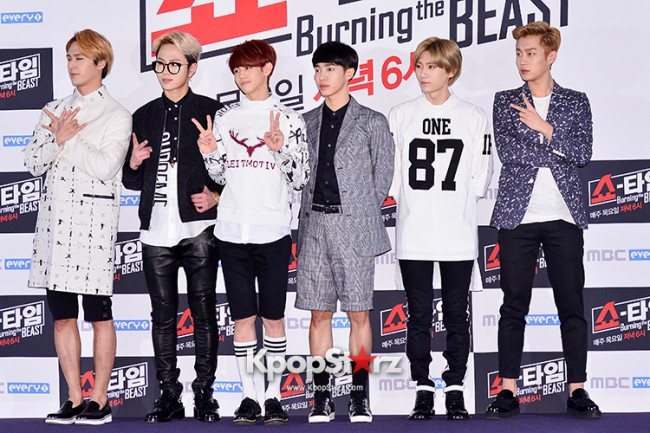 "Beast at MBC Showtime ""Burning the BEAST""key=>2 count64"