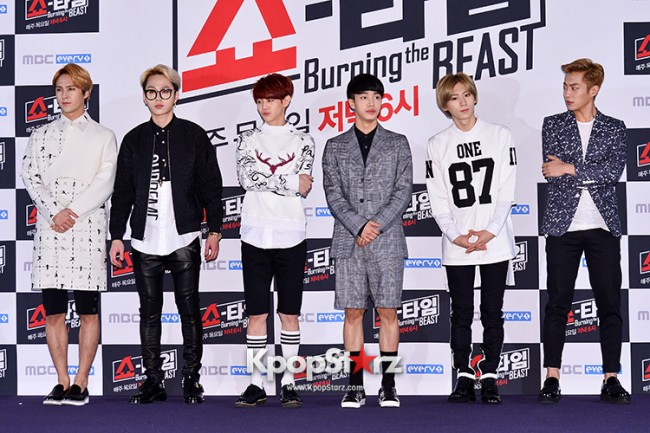 "Beast at MBC Showtime ""Burning the BEAST""key=>3 count64"