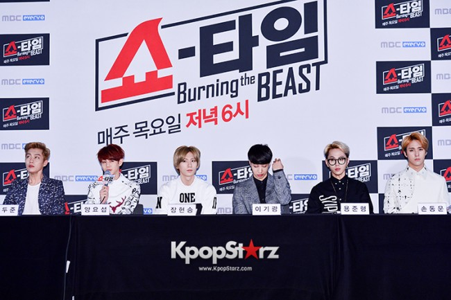 "Beast at MBC Showtime ""Burning the BEAST""key=>6 count64"