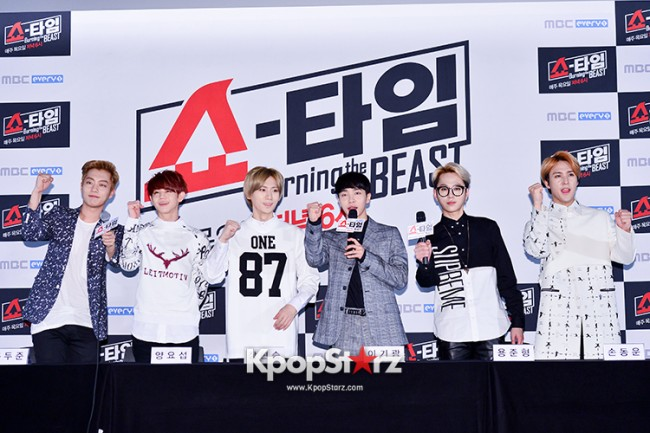 "Beast at MBC Showtime ""Burning the BEAST""key=>7 count64"