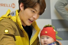 Kim Woo Bin Attends MERRELL Fan Sign Event