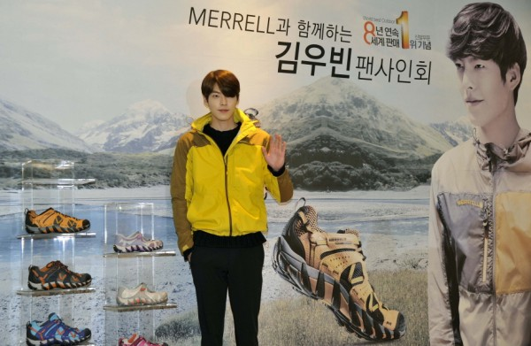 Kim Woo Bin Attends MERRELL Fan Sign Event key=>5 count9