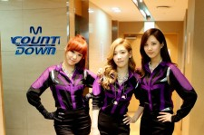 TaeTiSeo (SNSD) Photo Before 'M! Countdown' Debut Performance