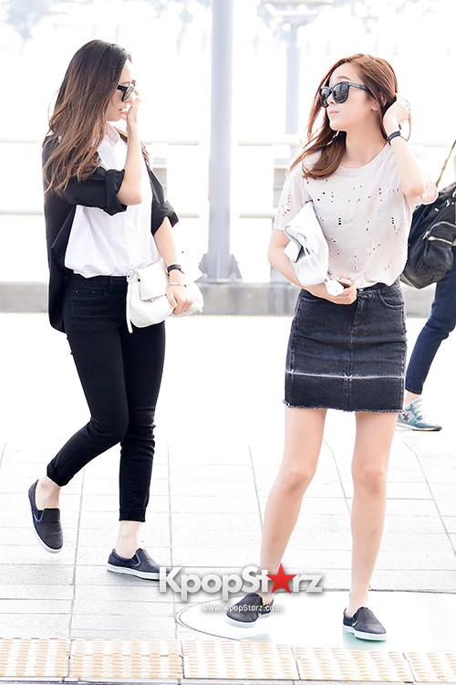 Girls Generation[SNSD] Jessica and f(x)'s Krystal Heading to Los Angeles to Attend Jimmy Choo's Event key=>16 count24