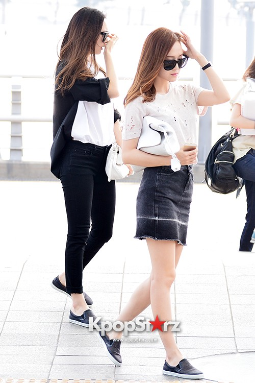 Girls Generation[SNSD] Jessica and f(x)'s Krystal Heading to Los Angeles to Attend Jimmy Choo's Event key=>18 count24