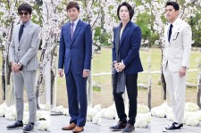 Kim Min Jun, Lee Jung Jin, Jang Hyuk and Jung Suk Won Attend Oh Ji Ho's Wedding Ceremony - April 12, 2014 [PHOTOS]
