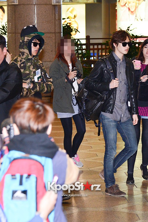 CNBLUE Heads Over To China To Attend 'YINYUE V-Chart Awards' key=>3 count17