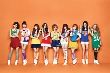 Girls' Generation shows off NBA fashion