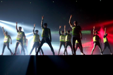 The 8,000 fans packed into the Jamsil Arena in Seoul, South Korea on Tuesday night for the much-anticipated EXO Comeback Show, got a lot more than your average pop concert.