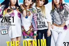 U.S. Nylon Magazine Features Group 2NE1 For Cover Photo