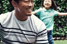 choo sung hoon photo shoot with daughter