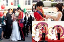 'The King 2 Hearts' Ha Ji Won- Lee Seung Gi Engagement Ceremony