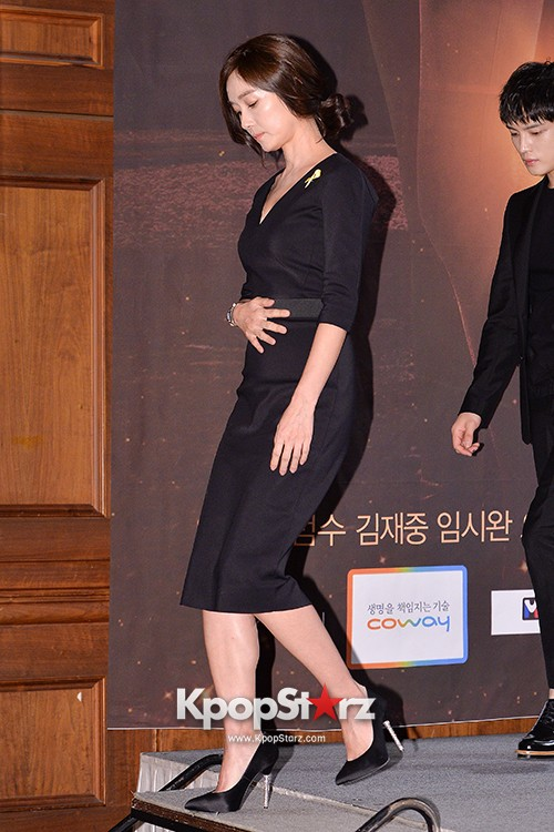 Lee Bum Soo and Oh Yun Soo Attends MBC Drama 'Triangle' Press Conferencekey=>16 count28