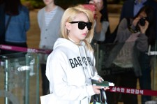2ne1 Leaves for Tokyo from Gimpo Airport to Participate YG Family Concert