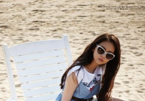 Wonder Girls' Sohee in Paradise for High Cut [PHOTOS]
