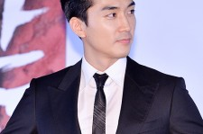 Song Seung Hun Attends in the Press Conference of Upcoming Erotic Movie 'Obsessed'