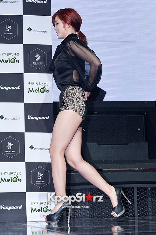 SECRET's Jun Hyosung Holds her 'TOP SECRET' Showcase'key=>2 count28