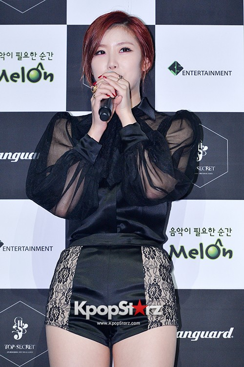 SECRET's Jun Hyosung Holds her 'TOP SECRET' Showcase'key=>3 count28