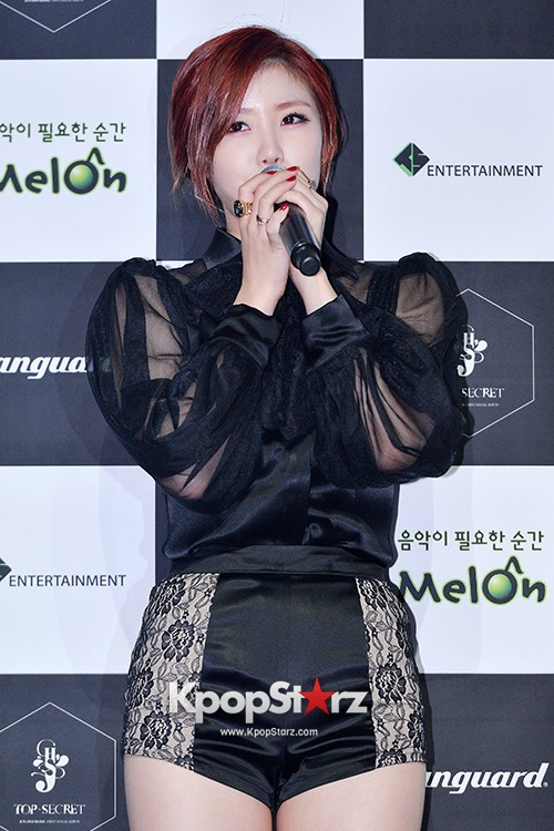 SECRET's Jun Hyosung Holds her 'TOP SECRET' Showcase'key=>4 count28