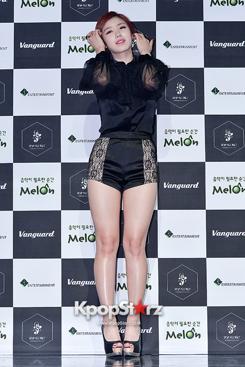 SECRET's Jun Hyosung Holds her 'TOP SECRET' Showcase'key=>5 count28