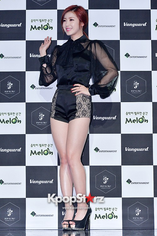 SECRET's Jun Hyosung Holds her 'TOP SECRET' Showcase'key=>6 count28