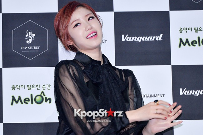 SECRET's Jun Hyosung Holds her 'TOP SECRET' Showcase'key=>7 count28