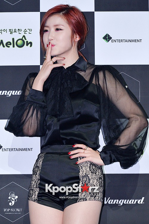 SECRET's Jun Hyosung Holds her 'TOP SECRET' Showcase'key=>8 count28