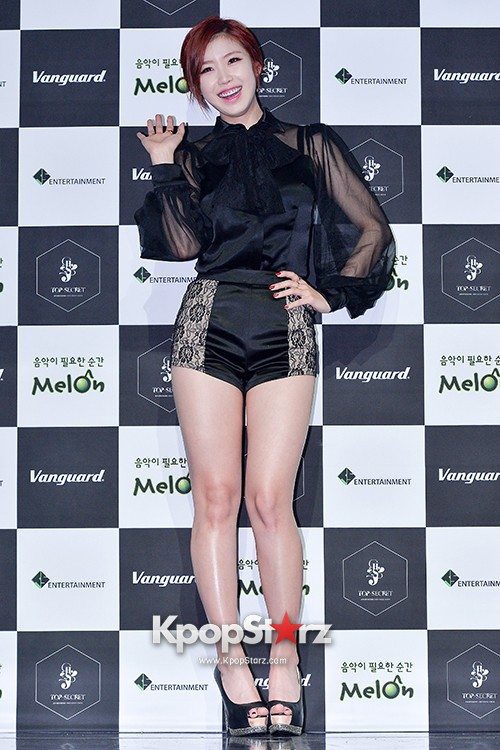 SECRET's Jun Hyosung Holds her 'TOP SECRET' Showcase'key=>9 count28