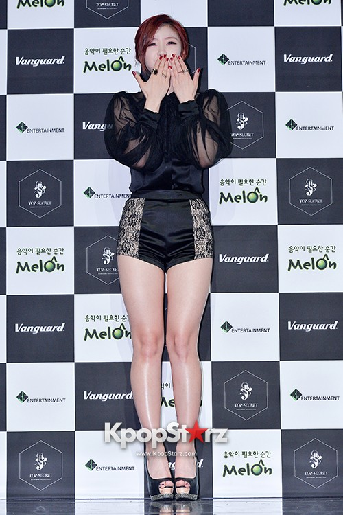 SECRET's Jun Hyosung Holds her 'TOP SECRET' Showcase'key=>10 count28