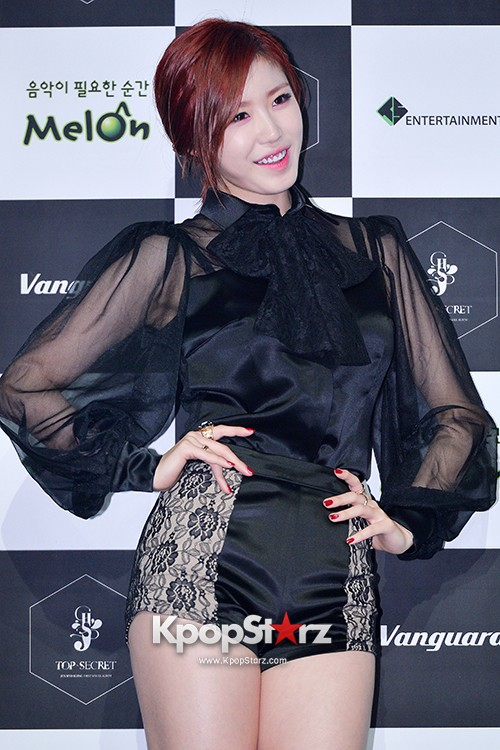 SECRET's Jun Hyosung Holds her 'TOP SECRET' Showcase'key=>11 count28