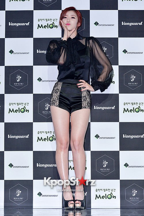 SECRET's Jun Hyosung Holds her 'TOP SECRET' Showcase'key=>13 count28